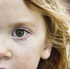 Skye (Tim Bow Photography) Tags: light portrait color colour reflection green eye girl face look female canon hair children nose child skin nelson reflect nz ear stare british welsh wavy svenska 550d psdtuts canon550d timboss81 timbowphotography
