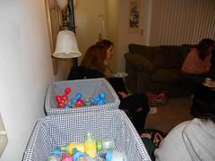 (MCandJenny) Tags: blue boy party baby cake fun shower football apartment ben drink balloon laugh stephanie