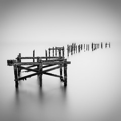Swanage Pier (paulwynn-mackenzie.co.uk) Tags: wood old longexposure sea england blackandwhite bw seascape southwest slr abandoned water contrast photoshop silver photography pier seaside britain sony smooth scenic clarity a33 professional le dorset nd processing pro alpha dslr filters grad vignetting tones amateur vignette swanage hitech slt lightroom digitalcameraclub leadin cs5 gradnd 10stop bigstopper lightroom4 slta33 hitechpro10stopper lightroom4beta
