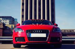 Audi TT (preynolds) Tags: car dof tamron auditt 1750mm redsportscar canon600d birminghamrooftop