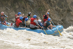 That way on the Sun Kosi river Adventure rafting and Kayaking trip