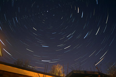 Star trails.... (CJ Isherwood) Tags: exposure images stacking startrails