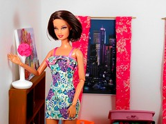 Melissa (the waverlys) Tags: standing doll barbie story series basics diorama dollies