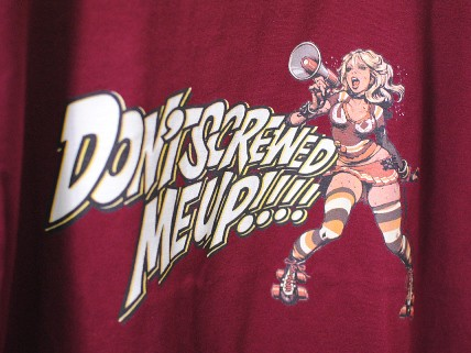 "Erostika - 經典LOGO與""Don't Screwed Me Up!""兩款新TEE 上市!"