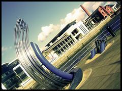 Diamond (Alex Patel's Portfolio) Tags: uk swansea wales buildings britain great modernism land seafront