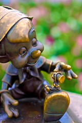 Magic Kingdom: Pinocchio (Hamilton!) Tags: world travel vacation lake ex fun 50mm focus florida f14 sony hamilton sigma disney resort assist adobe vista manual walt dg buena lightroom peaking nex f20 hsm nex7 pytluk