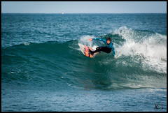 Longboard Cut back (Broogland - Nicolas Gudon) Tags: alexis mer france surf ride pentax surfer bretagne esb longboard perros planche perrosguirec glisse cotesdarmor cutback trestraou tregor deniel 7iles ponant 7island k200d sevenislandsurfclub alexisdeniel performerpro