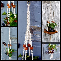 Velvet Cloud- Handmade Natural Cotton Macrame Plant Hanger (Macramaking- Natural Macrame Plant Hangers) Tags: plants plant green hippies easter cord beads office holidays natural herbs gardening handmade unique oneofakind decorative character cottage creative graduation craft peaceful ivy northcarolina funky retro nostalgia deck ornament cotton zen porch blonde pottery string americana conversation fengshui flowing chic etsy cheerful boho brass birthdaygift seedlings honeycomb groovy hang bohemian homedecor hanger sunroom beachhouse macrame fibers stylish detailed madeinusa hangingbasket shabby shabbychic bohochic containergardening macramé planthanger alternating planthangers mothersdaygifts macrameplanthanger macramaking chinesecrownknot httpwwwetsycomshopmacramaking velvetcloud