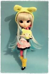 Rainbow  Kana - Pullip - Shan-ria (Custom by Nerea Pozo) (Kim-kun) Tags: rainbow pullip custom pullips kana pozo nerea custompullip nereapozo shanria pullipshanria rainbowkana