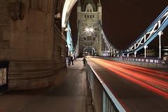Tower Bridge at night (photography_fanatic) Tags: bridge light tower streaks platinumheartaward ringexcellence dblringexcellence tplringexcellence eltringexcellence
