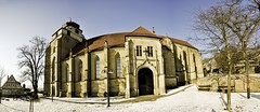 Stiftskirche Herrenberg Panorama (Michad90) Tags: panorama church germany nikon herrenberg stiftskirche d90
