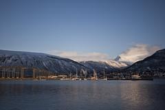 From Troms (dataichi) Tags: travel snow tourism nature norway canon north destination fjord canon5d northern nord norvge