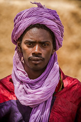 Portrait of a touareg in Gorom Gorom market goats, in the tribal region of the Sahel, northern Burkina Faso (anthony pappone photography) Tags: africa travel portrait people canon tribal westafrica afrika ethnic ritratto touareg burkina burkinafaso tuareg afrique goromgorom sahel bani     burkinabe africantribe