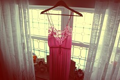 By a thread (Bella Harris) Tags: pink light fashion canon vintage clothing pretty dress sweet lace innocence dreamy wardrobe capture wraith