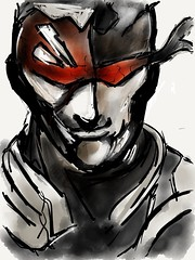 Metal gear solid speed sketch (5 min) on ipad2 using paper 53 app #MadeWithPaper (WouterZArtZ - Dutch Designs!) Tags: game illustration sketch graphic drawing cartoon fantasy doodles ipad madewithpaper ipad2 paperapp learningpaper