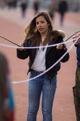 Bubble (Claude Schildknecht) Tags: france girl europe place lyon bubbles places fille bulles bellecour