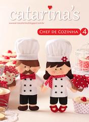 4 Apostila digital Chef de cozinha (Ei menina! - rica Catarina) Tags: craft chef feltro tutorial pap molde apostila mestrecuca chefdecozinha apostilachefdecozinha