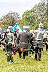 [2014-04-19@15.06.14a] (Untempered Photography) Tags: history costume fight helmet battle medieval weapon sword knight combat armour reenactment skirmish combatant chainmail canonef50mmf14 perioddress polearm platearmour gambeson poleweapon mailarmour untemperedeye canoneos5dmkiii untemperedeyephotography glastonburymedievalfayre2014