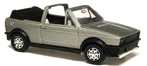 Mattel VW Golf cabrio Zender look