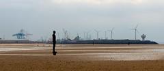 Crosby Beach (jmorley721) Tags: men beach iron crosby