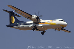 VT-JCQ Atr-72 Jet Airways Konnect (JaffaPix +4 million views-thanks...) Tags: airplane flying aircraft aviation flight aeroplane airline airliner turboprop atr atr72 blr bangaloreairport jetairways at72 vobl vtjcq jetairwayskonnect jaffapix davejefferys