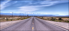 In The Middle of Nowhere.. (scrapping61) Tags: road snow mountains oregon landscape highdesert legacy highway95 scrapping61 tisexcellence legacyexcellence poeexcellence