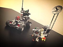 Post-Apocalyptic Avengers and their crazy vehicles (Evilyushin) Tags: lego superheroes marvel avengers postapocalypse