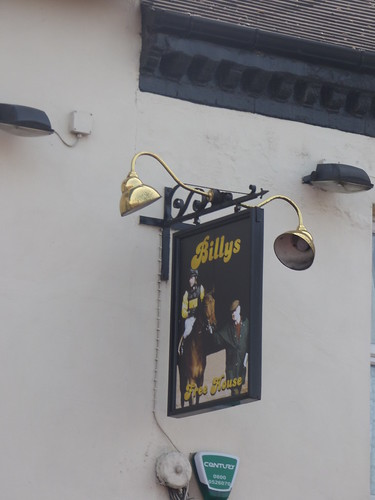 Billy's - New Street, Burton upon Trent - pub sign