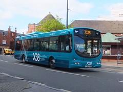 trent barton 745 Derby (Guy Arab UF) Tags: street bus buses eclipse volvo derbyshire albert trent barton wright derby 745 x38 b7rle wellglade wellgladegroup fj09xpd