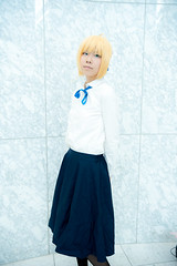 Fate/stay night (hobby_blog) Tags: game anime cosplay fate saber    fatestaynight