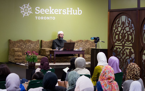 "Shaykh Yahya Rhodus at SeekersHub, Toronto and Seminar Series: Worship, Coffee and The Meaning of Life • <a style=""font-size:0.8em;"" href=""http://www.flickr.com/photos/88425658@N03/26566987720/"" target=""_blank"">View on Flickr</a>"
