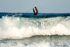 Tipped over surfer (sbyrnedotcom) Tags: ocean sea beach waves action australia surfing nsw surfers byronbay tallowbeach