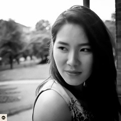 14bb2016 (photo & life) Tags: street portrait blackandwhite girl square asian women noiretblanc streetphotography casino squareformat badenbaden allemagne fujinon asiangirl jfl x100 23mm squarephotography fujifilmfinepixx100 humanistphotography photolife