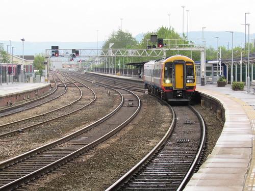Gloucester: FGW Class 158 (Gloucestershire)