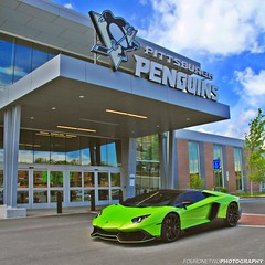 Let's Go Pens!! {EXPLORE} (FourOneTwo Photography) Tags: auto car exotic pittsburghpenguins letsgopens doctam3 pittsburghcarsncoffee supercarspersonified fouronetwophotography lamborghiniaventadorlp720450thanniversario teamscp