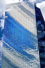 EZB Tower 1 (uschmidt2283) Tags: architektur esb natur stdte a7r blumen mainz spiegelungen