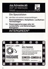 Switzerland vs England - 1981 - Page 50 (The Sky Strikers) Tags: world england cup st schweiz switzerland official basel 150 jakob fr programme offizielles programm qualifier fussballstadion