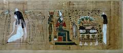 Papyrus of Ubekhet and Tadimut - Deir el-Bahri. Dynasty 21. - Cairo Museum Egypt (Amberinsea Photography) Tags: cairo papyrus ancientegypt cairomuseum bookofthedead thebookofthedead amberinseaphotography