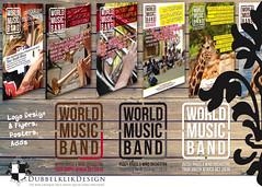 03 2016 WMB band (gabrielgs) Tags: poster logo design graphicdesign flyer concept vormgeving ontwerp grafischevormgeving gabrielschoutendejel