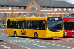 Trent Barton Volvo B8RLE 771 BD65EWB - Nottingham (dwb transport photos) Tags: nottingham urban bus eclipse volvo wright 771 trentbarton thewellgladegroup bd65ewb