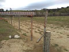 """Preparant el pati per estocar fusta i biomassa <a style=""""margin-left:10px; font-size:0.8em;"""" href=""""http://www.flickr.com/photos/134196373@N08/27071823230/"""" target=""""_blank"""">@flickr</a>"""