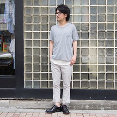 June 17, 2016 at 04:26PM (audience_jp) Tags: fashion japan shop tokyo audience snap  madeinjapan kouenji  coordinate   ootd    v     audienceshop  aud1567 upscapeaudience aud1789