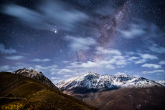 The Earth is not a cold dead place (VPMPhoto) Tags: cloud moon mountain mountains night clouds stars landscape star noche nikon paisaje astro luna astrophotography andes d750 montaa tamron f28 montaas astrophoto 2470