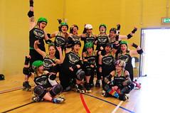 HARD B (sk8geek) Tags: team rollerderby skaters hullsangelsrollerdames