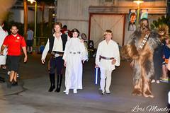 Luke, Leia, Han, and Chewbacca (disneylori) Tags: starwars disney disneyworld princessleia characters wdw lukeskywalker waltdisneyworld chewbacca hansolo disneycharacters starwarsweekends hollywoodstudios facecharacters
