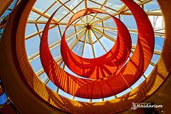 Abstract (haidarism (Ahmed Alhaidari)) Tags: abstract circle orange blue sky mall italy sonya65 depthoffield indoor tourism tourist travel venice bokeh compalto