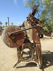 IMG_3155 (christeli_sf) Tags: deathvalley furnacecreek miningequipment scenicdrive