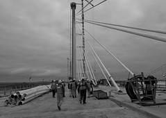 on the deck queensferry crossing-6180093 (E.........'s Diary) Tags: eddie rossolympusomdem5markiiscotlandjune2016