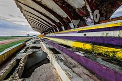 Fallen Glory (Geoff Livingston) Tags: urban bench ruins stadium decay havana cuba seats habana exploration corrosion