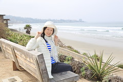 IMG_6804 (Ethene Lin) Tags: sandiego lajolla pacificocean 海 人像 海浪 沙灘